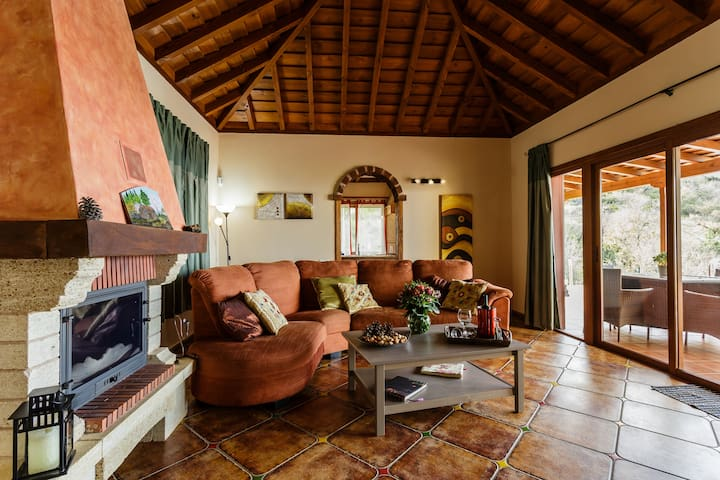 Rural villa with sea views in Puntagorda, La Palma - Puntagorda
