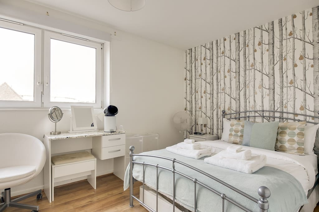 My property has everything you need; a charming bedroom