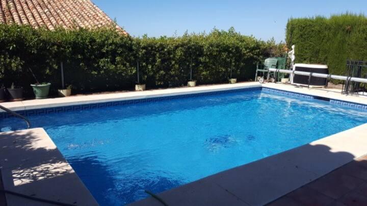 Charming Spanish Villla exclusive pool & garden