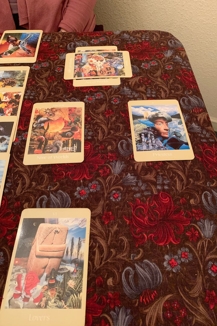 Reading with Voyager deck