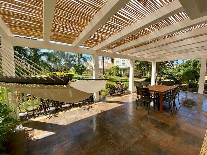 Lujosa villa, roof garden y jacuzzi