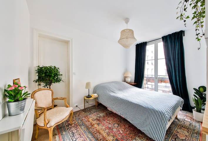Independent Studio, Cosy & Lovely near Montmartre