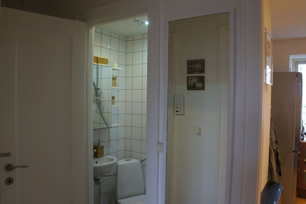 Corridor and Toilet