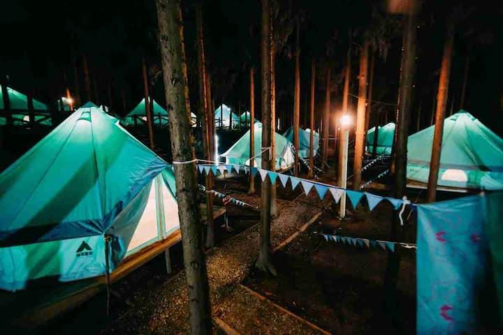 【水磨古镇】拾云营地·牧居帐篷(标间)