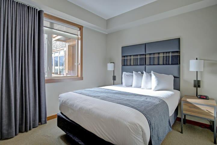 Deluxe bedroom #2 with a queen bed