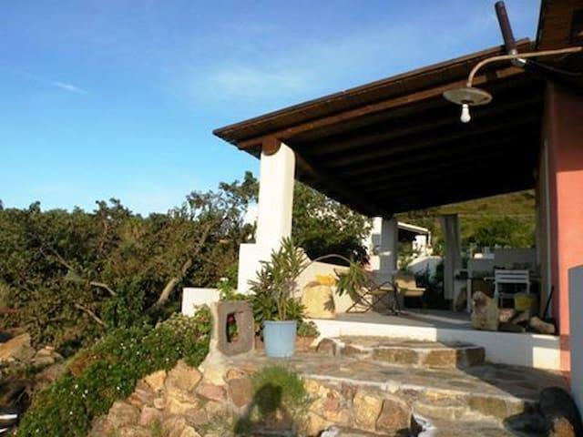 Casa Nidra per 2 -Natura e Panorama - Vulcano Piano - Apartament