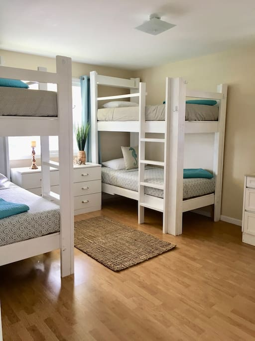 Bedroom 2 with two bunk beds