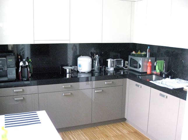 Kitchen for shared use