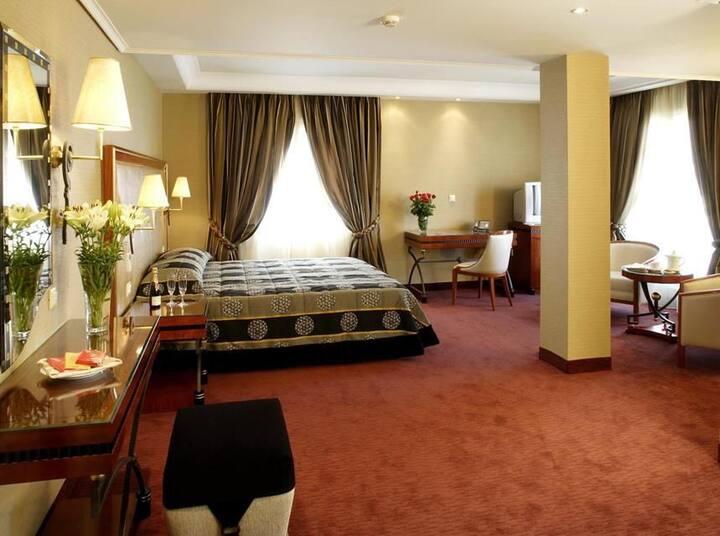 Junior Suite at Piraeus Theoxenia***** near Port