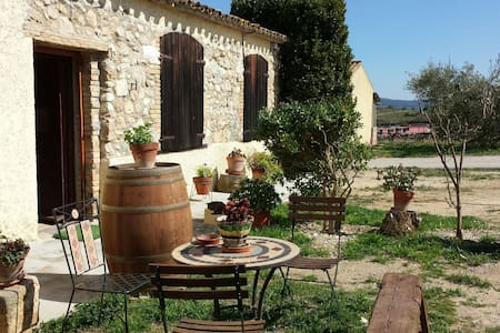 Converted Barn On Organic Farm 2 - Castellví de la Marca - Rumah