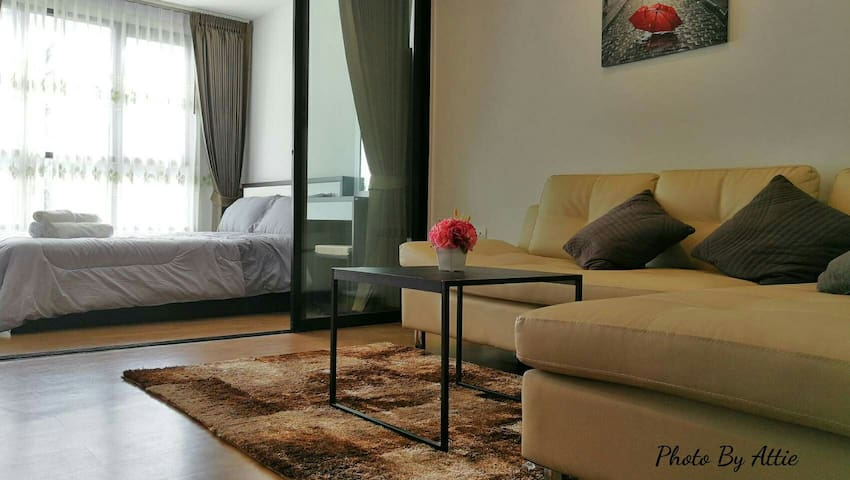 New condo Phuket town/Pool/Wifi/Gym - Wichit - Wohnung