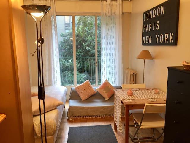 Un studio cosy à 7 min à pieds de la Tour Eiffel