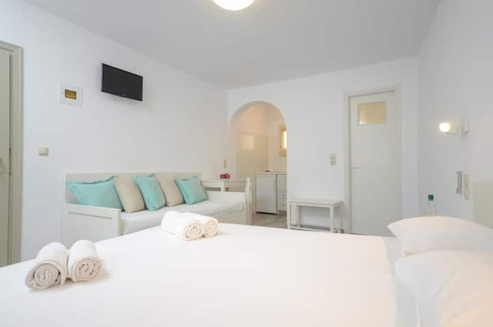 Soula Top Floor Superior Triple Studio 1Sofa Bed