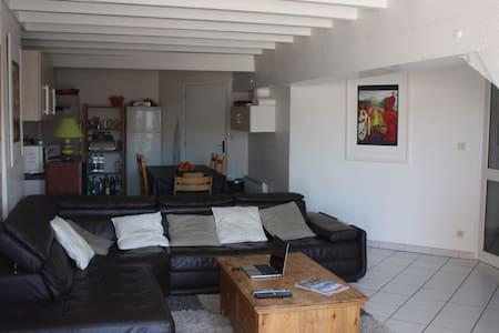 Duplex T5 avec cachet et terrasse ensoleillée - Pontarlier