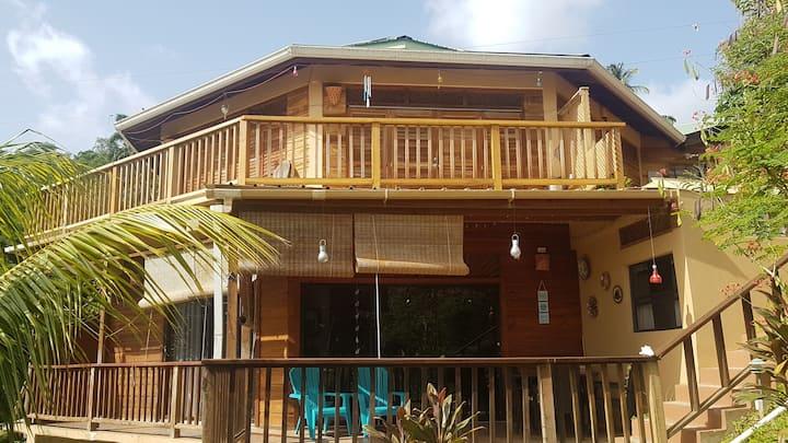 Oceanview  2 bedroom apartment Castara Tobago