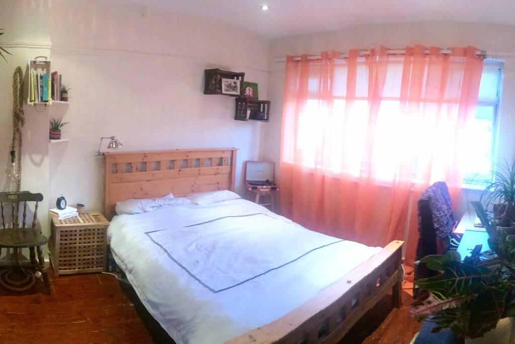 Bright Double Room - 1