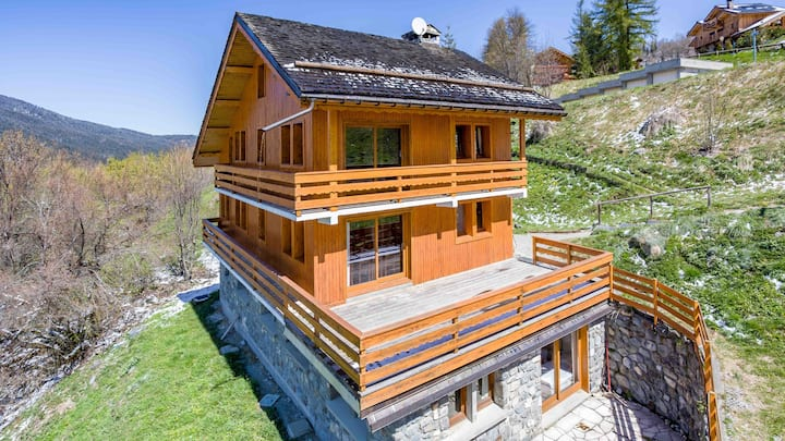 Chalet Costed Meribel Village low cost
