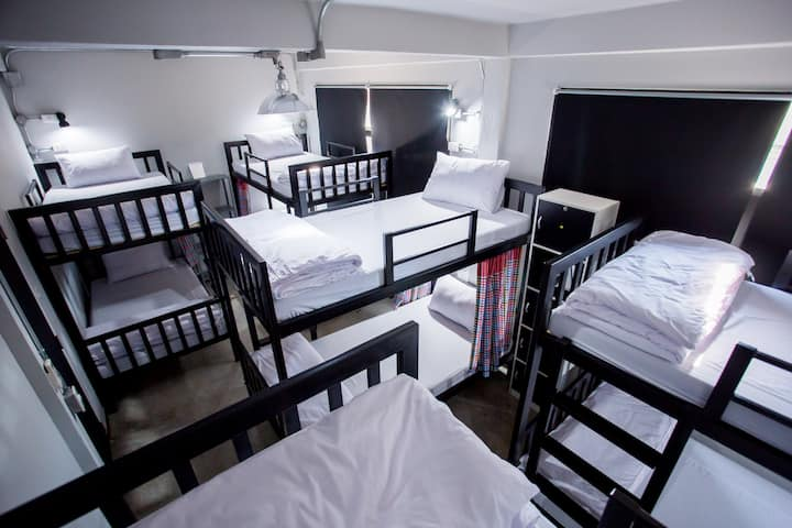 8Beds Mixed Dormitory@Baan 89 Hostel
