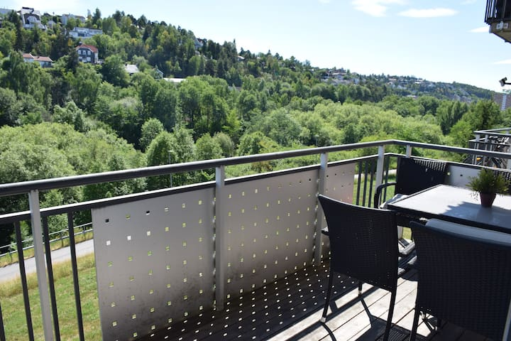A cosy apartment with balcony close to Oslo centre