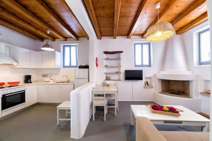 Porfyro apartment-Aegean Colors Koufonisia Houses - Koufonisia