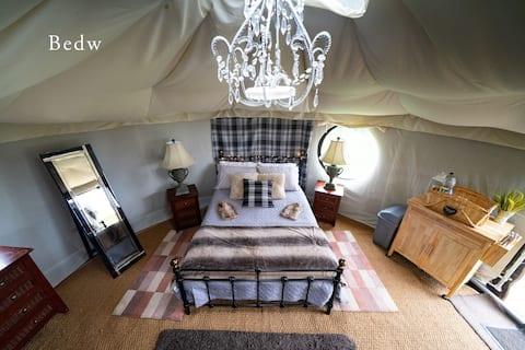 Bedw Snowdonia Glamping Yurt. Safe, Snug, Hideaway