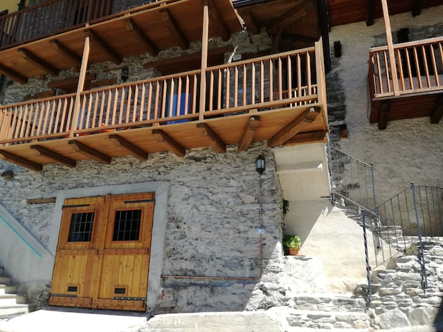 Apartment in panoramic position on Maira Valley