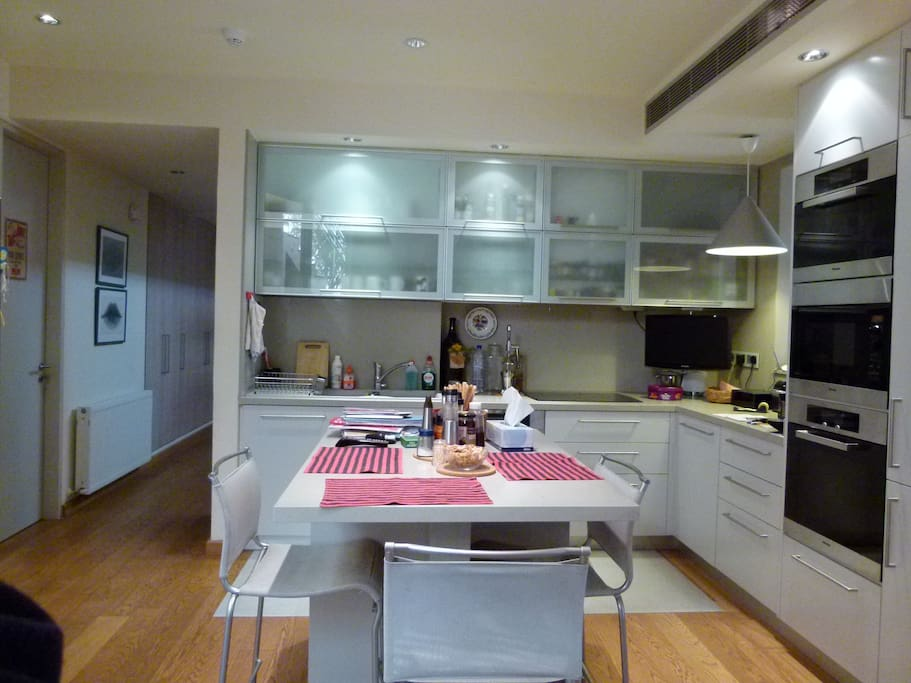 kitchen Miele fitted