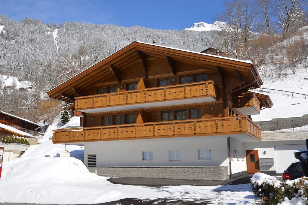 Apartment im Winter
