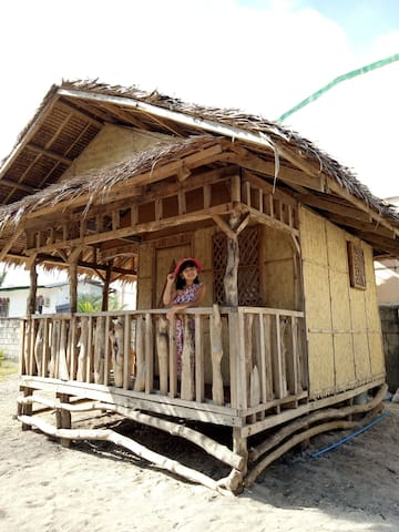 Filipino Native House a.k.a BAHAY KUBO :) your trip won't be complete if you wont try this accommodation!