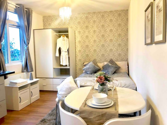 Cozy Studio with private bathroom and kitchen
