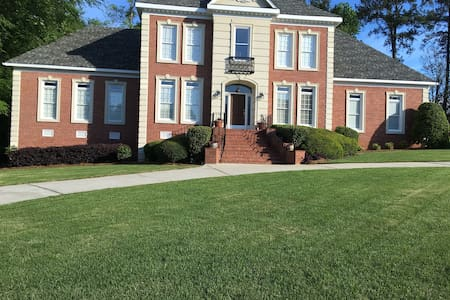 House close to I-20 located  upstairs clean BR/bat