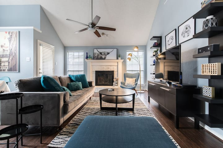 Cozy, Renovated House for Family Stay in Dallas