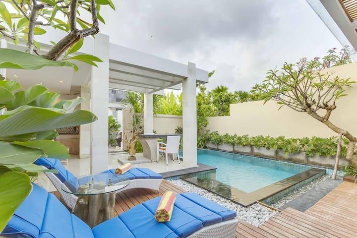 1BR Private Pool Villa Relax Unwind,Seminyak-Bali