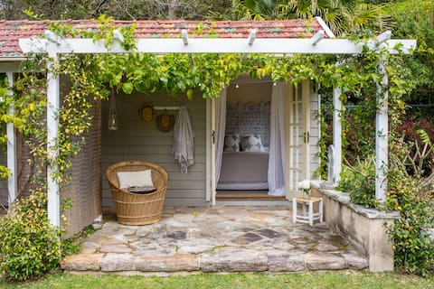 Beachside Cabin 2mins from village and Beach