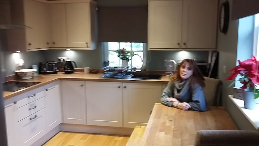 Shared kitchen - oh and me!