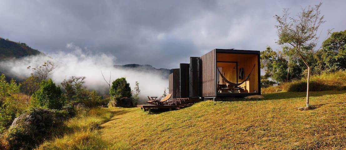 Eco design cabin in Catuçaba - MINIMOD