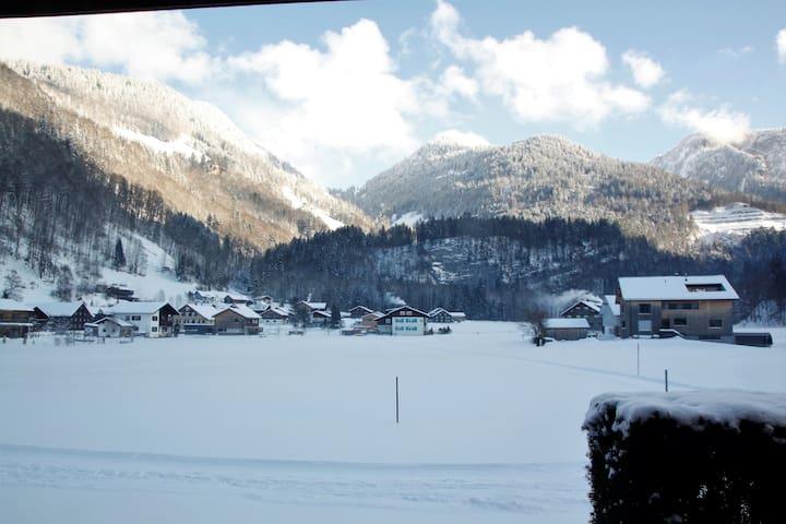 Schnepfau, Langlauf-Loipe