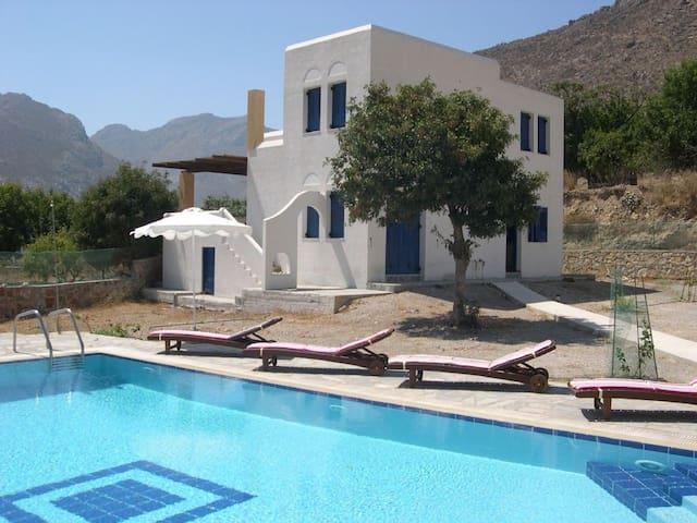 Eden Villa, Megalo Chorio, Tilos, Dodecanese.