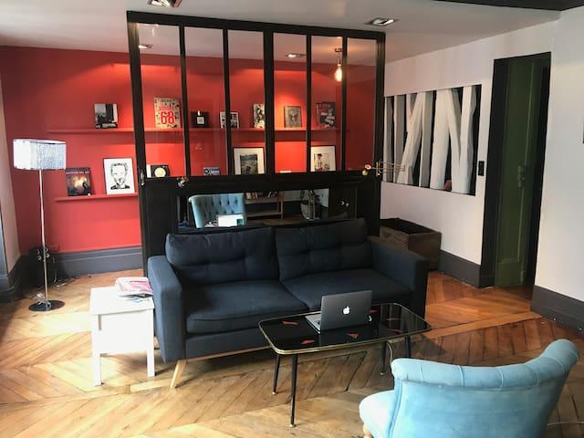 Bel appartement familial au coeur de Paris