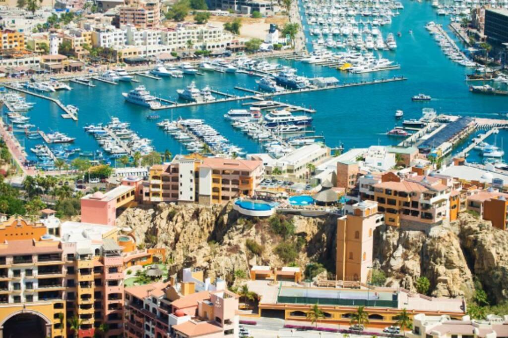 Aerial Shot of Resort