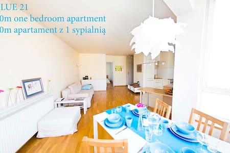 BLUE21  APARTMENT - NEW OFFER from 89zł for 1-4 - Appartement