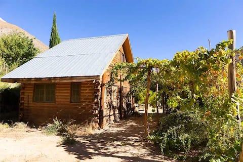 The Stone, cabin
