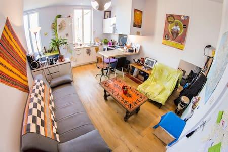 Appartement lumineux à Bordeaux St Jean - Bordeaux