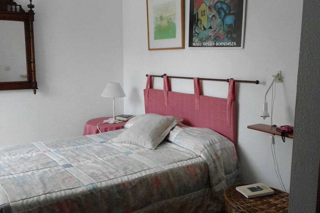 Dormitorio principal con mirador-galería