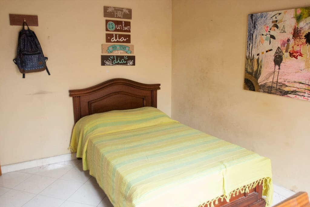 Perfect double bed to relax and enjoy the place