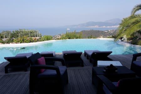 vacances paisible au bord de la piscine - Albitreccia - Villa