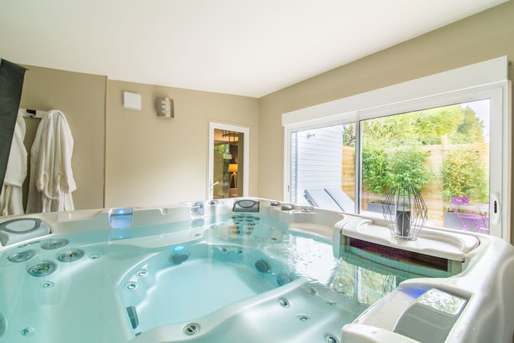 Suite avec jacuzzi privatif - Martragny - Pension