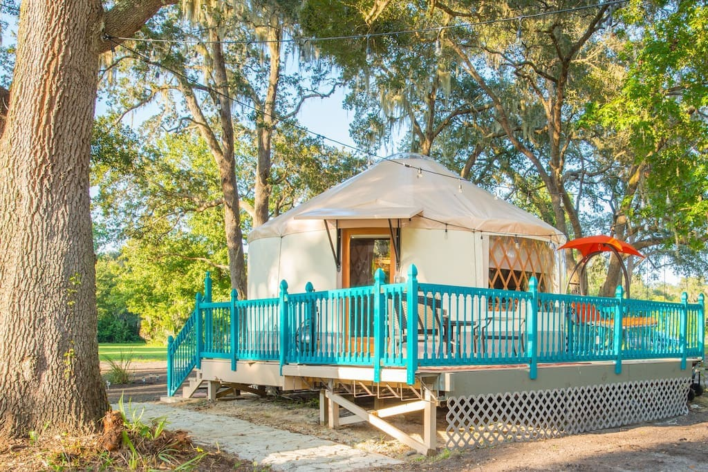 Yurt at Danville. Also available