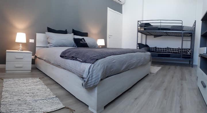 private apartment, urban modern style