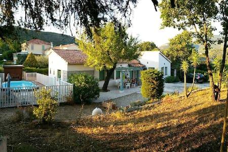 Mas provençal maison avec piscine - Levens